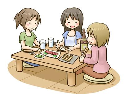 飲酒のときのダイエット方法